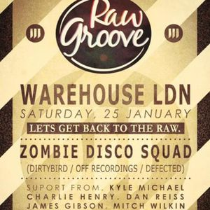 Mitch Wilkin & James Gibson - Warehouse 25.01.14