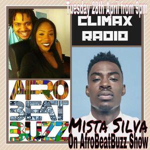 DJ MAGIC-JAY & MARY JAINE interviews MISTA SILVA AfroBeatBuzz Show ep9