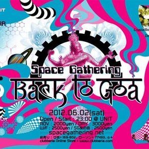 June 2012 DJ YUTA EBM SET@SpaceGathering BACK to GOA 2012