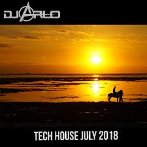 DJ Arlo Tech House July 2018