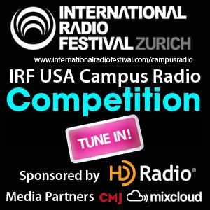 IRF Search for the Best US College Music Radio Show -  7 Nov
