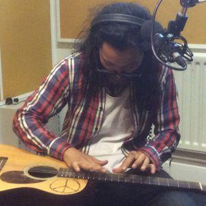 24th June 2015,  Japanese guitarist Kenta Hayashi live in the studio