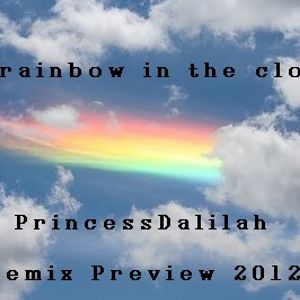 Rainbow in the cloud!