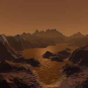 Methane Lakes Of Titan