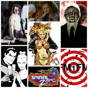 FM1FM - Comics & Cartoons Into Movies Best&Worst Special - SPIRAL ZONE Ep 12 - With Commander Fenice