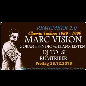 Classic Night with Marc Vision@Kilimanjaro Goran Efendic VS Elanx Listen