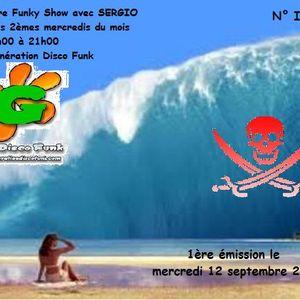 Corsaire Funky Show n° 1 avec Sergio sur Generationdiscofunk