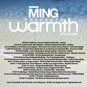 MING Presents Warmth 091