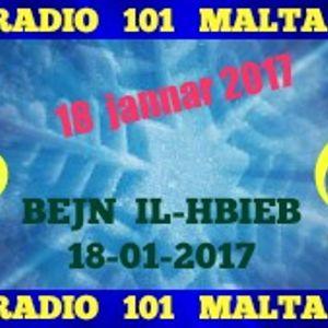 BEJN IL-HBIEB  18-01-2017