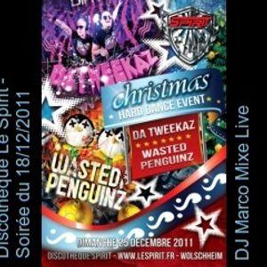 Discotheque Le Spirit - DJ Marco mix live - 18/12/2011