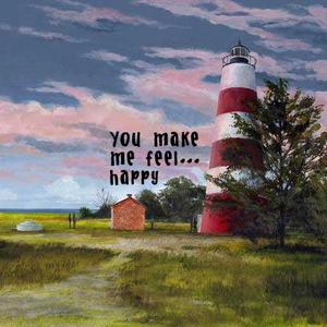 You make me feel... happy