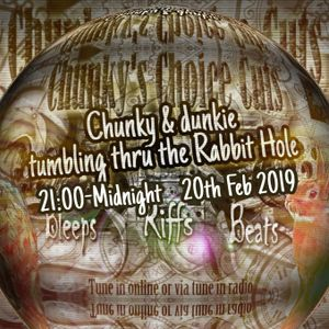 Tumbin' Thru the Rabbit hole with dunkie & Chunky CCC Feb 2019