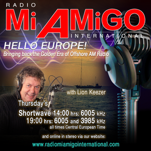 'Hello Europe' - Lion Keezer - Radio Mi Amigo International - 28-4-2016