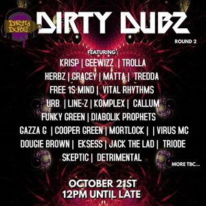 Dirty Dubz Round 2 PROMO MIX - Free 1s Mind