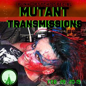 MUtant Transmissions Radio with DJ Polina Y Punk -Psycho - Billy Special (FULL SHOW )