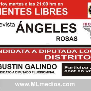 MENTES LIBRES Entrevista con Ángeles Rosas y Agustín Galindo candidatos de MORENA