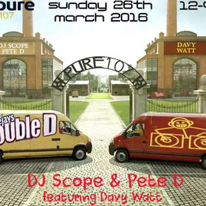 Double D Live On Pure 107 26.03.2017