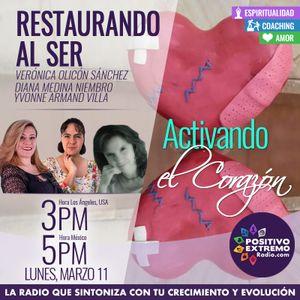 RESTAURANDO AL SER-03-11-19-ACTIVANDO EL CORAZON