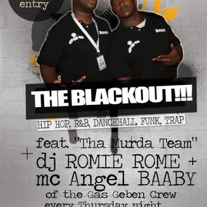 DJ Romie Rome and MC Angel Baaby - The BLACKOUT at COOKYS Live 25 JUL  2013 Part 1