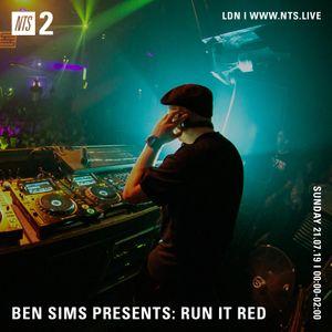 Ben Sims - 22nd July 2019