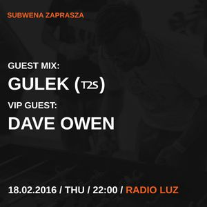 GULEK (T2S) ::: guest-mix for Subwena (18.02.2016)