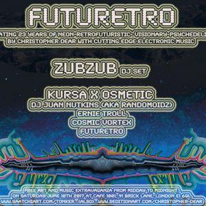 Dj Cosmic Vortex - Futuretro Art & Music event 2017 - Electroscopic Ossilations set