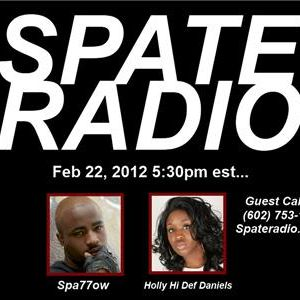 Spate Radio with special guest Spa77ow