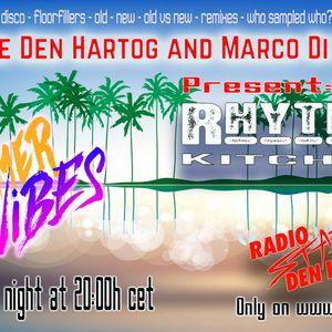 Radio Stad Den Haag - Rhythm Kitchen (June 15, 2021).