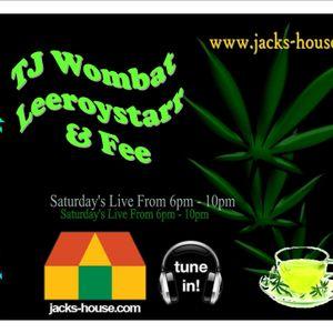 TJ Wombat - Leafy Tea on Jacks-House  4-2-12