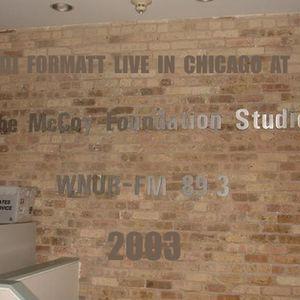 LIVE IN CHICAGO 2003 by DJ FORMATT
