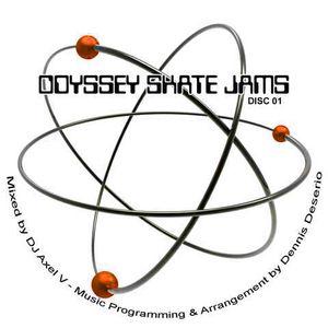Dj Axel V - Skate Odyssey 35 yr Reunion Mix cd1