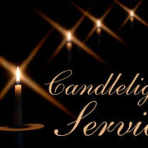 December 18/16 Candle Light Service