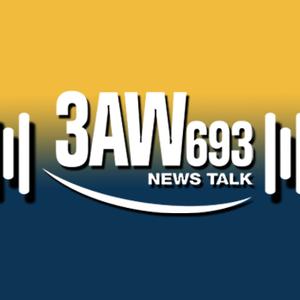 3AW Mornings with Tony Jones, January 9