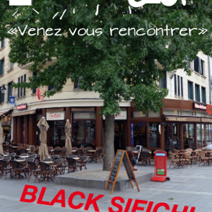Black Sifichi in Nantes at the Bisrro du Cours - Mix and vocals live.