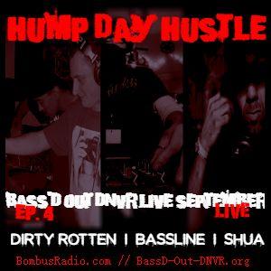Bass'D Out DNVR LIVE on Bombus Radio (September Edition) - Dirty Rotten + Shua b2b Bassline