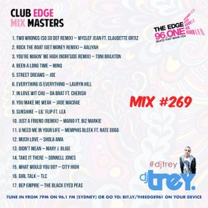 The Edge 96.1 MixMasters #269 - Mixed By Dj Trey (2019) :: R&B // Hip Hop // Old School // 2000s