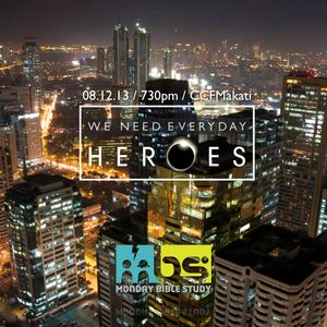20130812 | MBS - We need everyday Heroes - Ickhoy De Leon