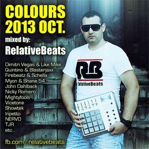 RelativeBeats - COLOURS 2013 Oct. (Dj Mix)