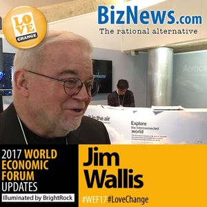 Jim Wallis to SA: Have faith in a different future and it will surely manifest.