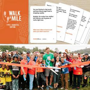 TV Stars at JDRF OneWalk LA / Walk A Mile Cards
