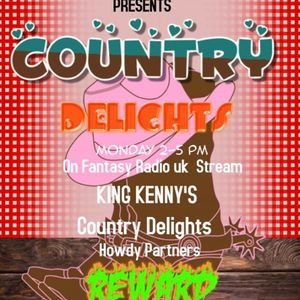 Country Afternoon Delights With Kenny Stewart - July 27 2020 www.fantasyradio.stream