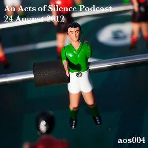 An AoS Podcast: 24 August 2012