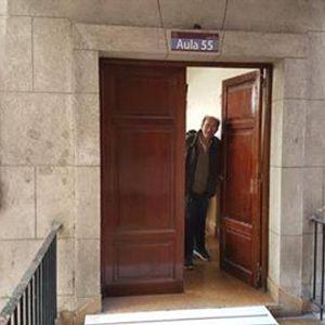 Benjamín Klingenfeld a los 85 años se recibió de abogado en la UBA.