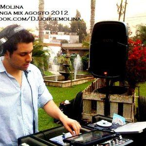 Jorge Molina (Pachanga mix Agosto 2012)
