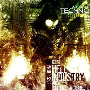Art Style: Techno   Hell Industry with Rob Rules & Gabriel T.   Process 1     2013.02,18