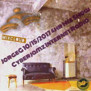 10/15/2017 Curious Jorge G Show 4hr Mix-set via Cyberjamz Internet Radio