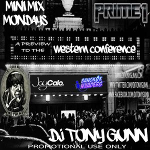 Mini Mix Monday Vol. 4/ Preview to the Western Conference