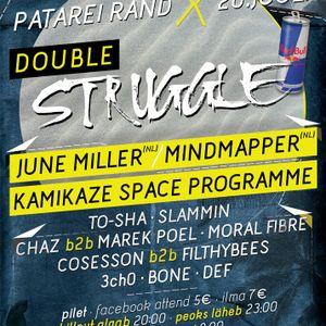 Bone & 3CH0 @ Double Struggle - Patarei vangla 20-07-2012
