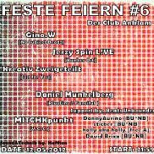 Daniel Munkelberg @ Feste Feiern#6 - Der Club Anklam - 12.06.2012