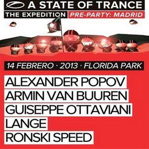 Alexander Popov - Live at ASOT 600 The Expedition (Florida Park, Madrid) - 14.02.2013